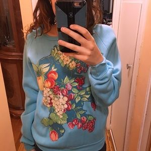 Baby Blue Floral Sweater 💙✨🌺 🍼